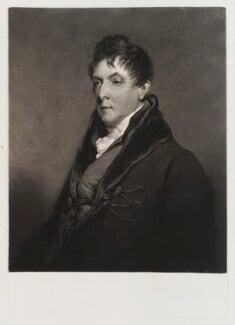 George Granville Leveson-Gower, 1st Duke of Sutherland, by Charles Turner, after  William Owen, published 1825 - NPG D20095 - © National Portrait Gallery, London