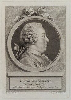 Thomas Walpole, by Augustin de Saint-Aubin, after  Charles Nicolas Cochin, 1764 - NPG D20119 - © National Portrait Gallery, London