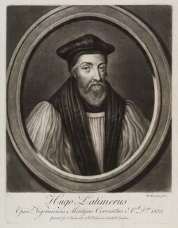 Hugh Latimer, by Richard Houston, published by  Elizabeth Bakewell, published by  Henry Parker - NPG D20126