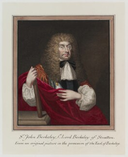 John Berkeley, 1st Baron Berkeley of Stratton, by George Perfect Harding - NPG D20130