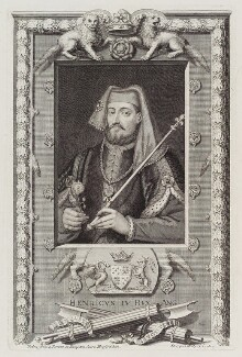 King Henry IV, by George Vertue - NPG D20132