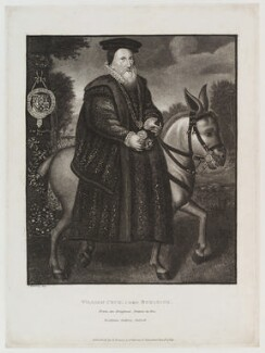 William Cecil, 1st Baron Burghley, published by Edward Evans, after  Silvester (Sylvester) Harding - NPG D20134