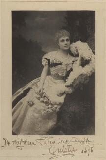 Infanta Eulalia of Spain, Duchess of Galliera, by Alice Hughes, 1898 - NPG x45049 - © National Portrait Gallery, London