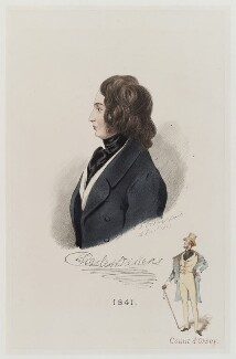 Charles Dickens; Alfred, Count D'Orsay, by Alfred, Count D'Orsay - NPG D20137