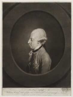 Prince William Henry, 1st Duke of Gloucester and Edinburgh, by Richard Earlom, published by  Robert Sayer, after  Hugh Douglas Hamilton - NPG D20145
