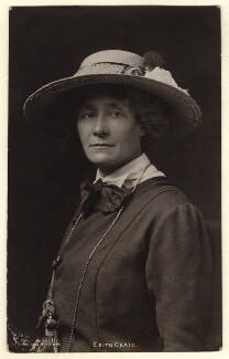 Edith Ailsa Geraldine Craig, by Lena Connell (later Beatrice Cundy) - NPG x45189