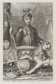 Edward, Prince of Wales, by George Vertue - NPG D20154