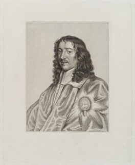 Thomas Wriothesley, 4th Earl of Southampton, after Sir Peter Lely, published circa 1810 (circa 1661) - NPG D20161 - © National Portrait Gallery, London