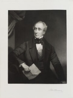 Sir John Rennie Jr, by J. Andrews, printed by  Thomas Brooker - NPG D20167