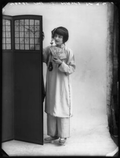 Sheila Hayes as Moy Fah Loy in 'The Yellow Jacket', by Bassano Ltd - NPG x104209