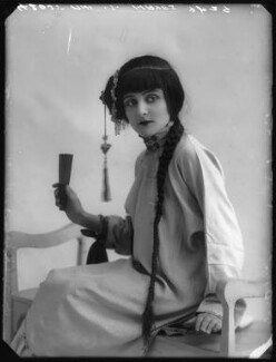 Sheila Hayes as Moy Fah Loy in 'The Yellow Jacket', by Bassano Ltd - NPG x104214