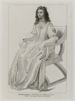 Margaret Cavendish (née Lucas), Duchess of Newcastle upon Tyne, published by Silvester Harding - NPG D20175