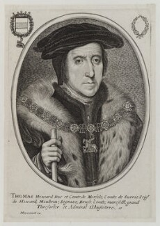 Thomas Howard, 3rd Duke of Norfolk, published by Balthasar Moncornet, after  Hans Holbein the Younger - NPG D20179
