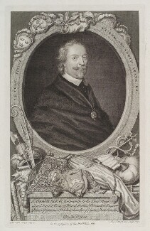 Sir Thomas Roe, by George Vertue, after  Michiel Jansz. van Miereveldt - NPG D20184