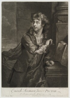 Enoch Seeman, by and published by John Faber Jr, after  Enoch Seeman, 1727 - NPG D20188 - © National Portrait Gallery, London