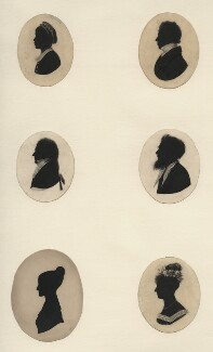 Six unknown sitters, by Unknown artists - NPG D16822