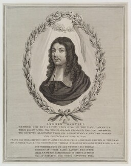Andrew Marvell, by James Basire - NPG D20190