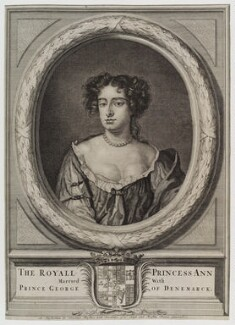 Queen Anne, published by Nicolaes Visscher II, circa 1675-1700 - NPG D20196 - © National Portrait Gallery, London