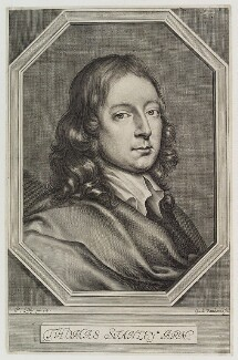 Thomas Stanley, by William Faithorne, after  Sir Peter Lely - NPG D20212