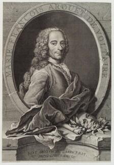 Voltaire, by Jean Daullé, circa 1740-1763 - NPG D20217 - © National Portrait Gallery, London