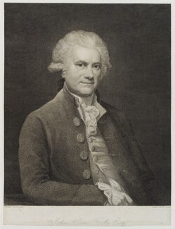 John Horne Tooke, by Anker Smith, after  Thomas Hardy - NPG D20219