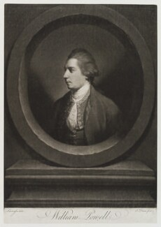 William Powell, by John Dixon, after  Thomas Lawranson - NPG D20221