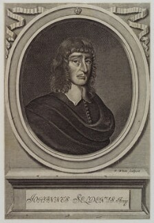John Selden, by Robert White - NPG D20231