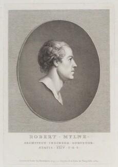 Robert Mylne, by Vincenzio Vangelisti, after  Richard Brompton, 1783 (1783) - NPG D20246 - © National Portrait Gallery, London