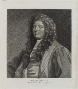 Robert Plot, by and published by Edward Harding - NPG D20255