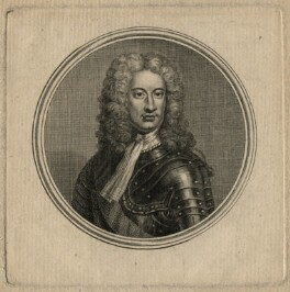 Charles Mordaunt, 3rd Earl of Peterborough, by Guillaume Philippe Benoist, after  Sir Godfrey Kneller, Bt, published 1757 - NPG D16676 - © National Portrait Gallery, London