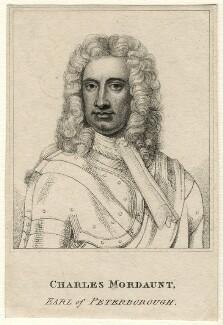 Charles Mordaunt, 3rd Earl of Peterborough, after Sir Godfrey Kneller, Bt - NPG D16681