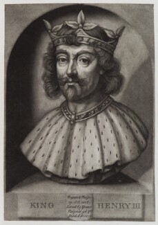 King Henry III, by John Faber Jr, after  Unknown artist - NPG D20265