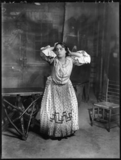 Mimi Aguglia-Ferrau as Iana in 'Malia', by Bassano Ltd, 1908 - NPG x104224 - © National Portrait Gallery, London