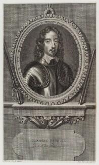 Thomas Fairfax, 3rd Lord Fairfax of Cameron, by Pierre Drevet, after  Robert Walker - NPG D20281