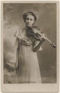 Marie Hall, by Mrs Burrell (Henrietta Theonie Jerome Burrell) - NPG x126797