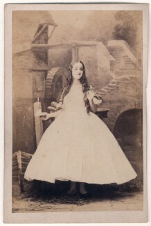 Adelina Patti as Amina in 'La Somnambule', by Camille Silvy, 1 August 1861 - NPG x126798 - © National Portrait Gallery, London