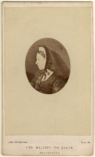 Queen Victoria, by (Cornelius) Jabez Hughes - NPG x36270