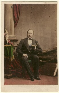 Prince Albert of Saxe-Coburg-Gotha, by Camille Silvy, 3 July 1861 - NPG Ax46705 - © National Portrait Gallery, London