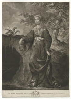 Selina Hastings, Countess of Huntingdon, published by Carington Bowles, after  John Russell - NPG D16850