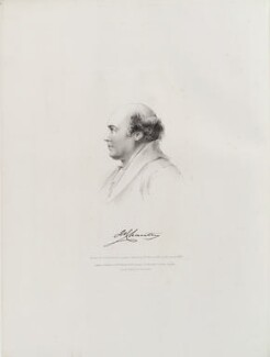 Sir Francis Leggatt Chantrey, by Thomas Fairland, published by  Marseille Middleton Holloway, after  Henry Weekes - NPG D20286