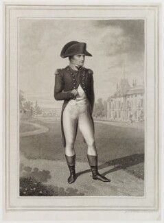 Napoléon Bonaparte, by C.J. Linges, and by  Robert Cooper, after  Jean Baptiste Isabey - NPG D20294