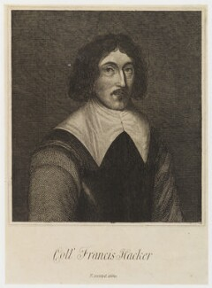 Francis Hacker, by Unknown engraver - NPG D20296