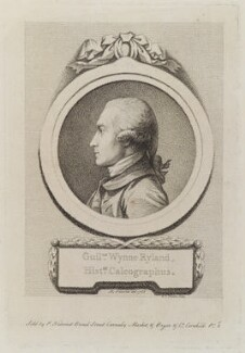 William Wynne Ryland, by D.P. Pariset, published by and after  Pierre-Étienne Falconet - NPG D20298