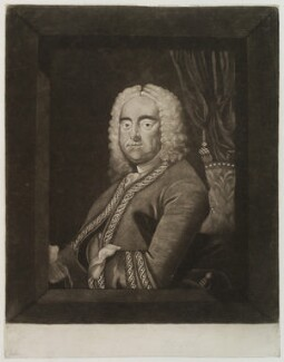 George Frideric Handel, after Thomas Hudson, (circa 1750-1775) - NPG D20310 - © National Portrait Gallery, London