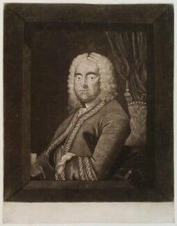 George Frideric Handel, after Thomas Hudson, (circa 1750-1775) - NPG D20310 - © National Portrait Gallery, London