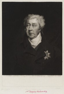 George James Cholmondeley, 1st Marquess of Cholmondeley, by William Brett, after  John Simpson, circa 1824-1827 - NPG D20311 - © National Portrait Gallery, London