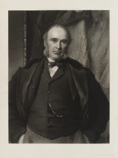 William Henry Smith, by John Douglas Miller, after  George Richmond - NPG D20314