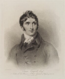 Thomas Campbell, by James Godby, published by  John Lee, after  Sir Thomas Lawrence - NPG D20316