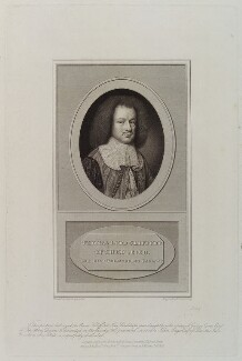 Thomas Clifford, 1st Baron Clifford of Chudleigh, by Edward Scriven, published by  James Carpenter, and published by  Colnaghi & Co, and published by  Anthony Molteno, after  Samuel Cooper - NPG D20324