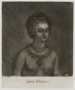 Jane Shore, after Unknown artist - NPG D20329